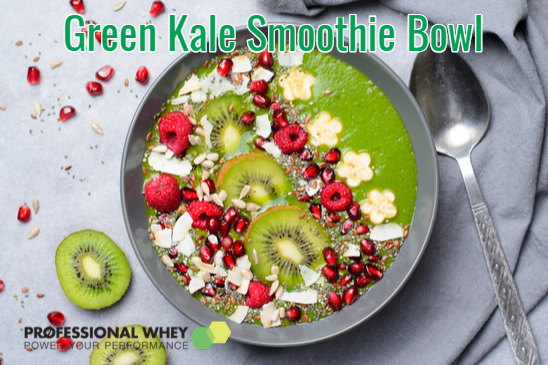 Green Kale Smoothie Bowl