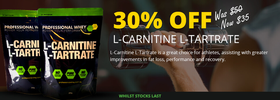 DEAL: L-CARNITINE L-TARTRATE 30% Off